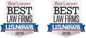Best Law Firms U.S. News 2014 and 2016